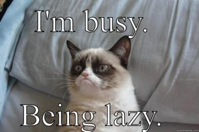 Busy-Being-Lazy