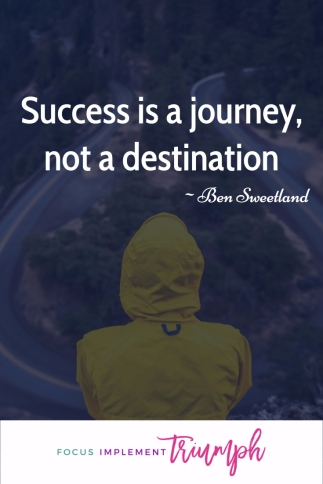Success a journey