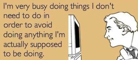 Procrastination-meme