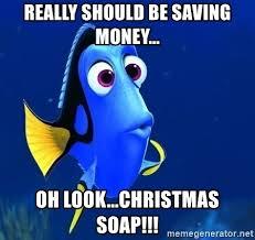 dory Christmas money